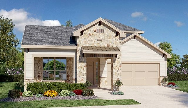 D.R. Horton - Woodrose II Rancho Sienna in Georgetown on lennar home plans, toll brothers home plans, pulte home plans,