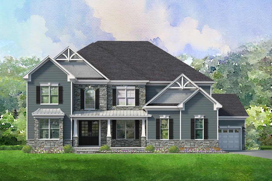 Single Family for Active at Overbrook Manor - Pearson 60 Bridlewood Place, Ne Concord, North Carolina 28025 United States