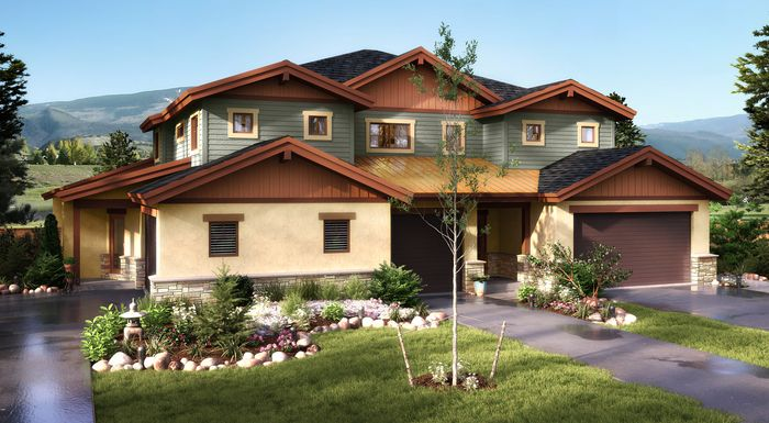 Single Family for Active at The Villas At Cotton Ranch - Duplex Phase 3 86 Black Bear Drive Gypsum, Colorado 81637 United States