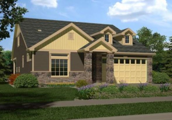 Single Family for Sale at Fairway Villas - Gleneagle 19394 54th Place DENVER, COLORADO 80249 UNITED STATES