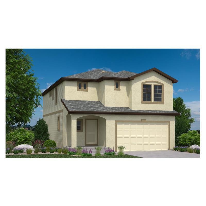 Oakwood homes colorado banning lewis ranch hudson for Modern homes colorado springs
