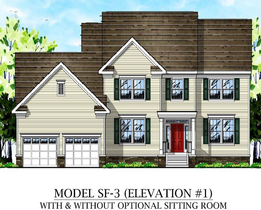 单亲家庭 为 销售 在 Springside At Robbinsville - Camilla 98 Thomas Drive Robbinsville, New Jersey 08691 United States