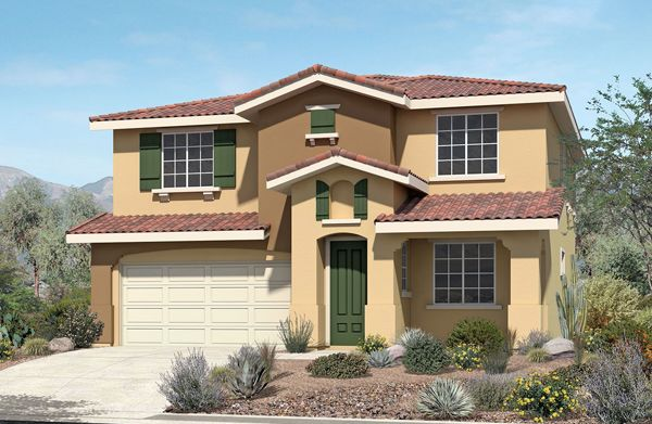 Single Family for Sale at Pacific Larkspur - Plan 1 4653 Vahan Court Lancaster, California 93536 United States