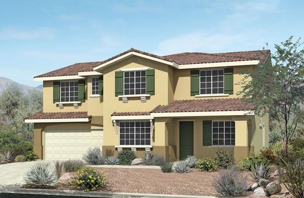 Single Family for Sale at Pacific Larkspur - Plan 4 4653 Vahan Court Lancaster, California 93536 United States
