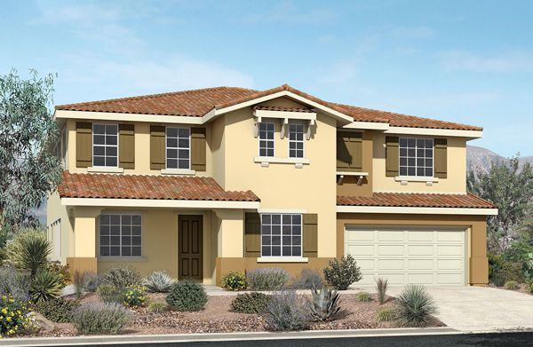 Single Family for Sale at Pacific Larkspur - Plan 6 4653 Vahan Court Lancaster, California 93536 United States