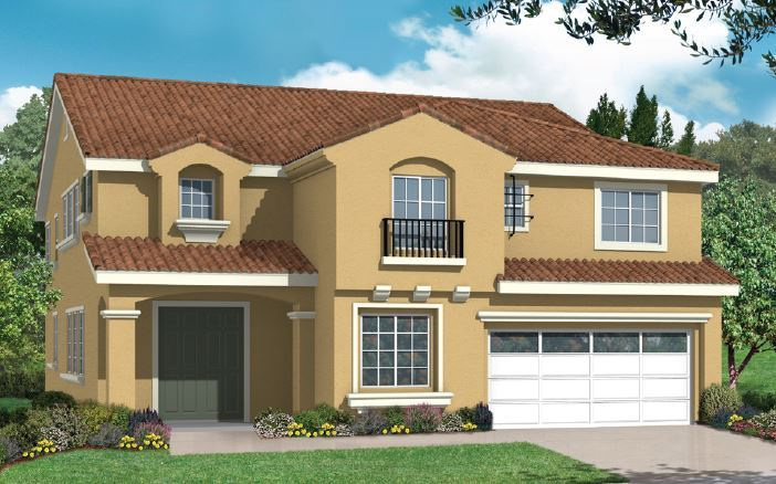 Single Family for Sale at Pacific Eagle - Plan 2 15923 Sulphur Springs Road Moreno Valley, California 92555 United States
