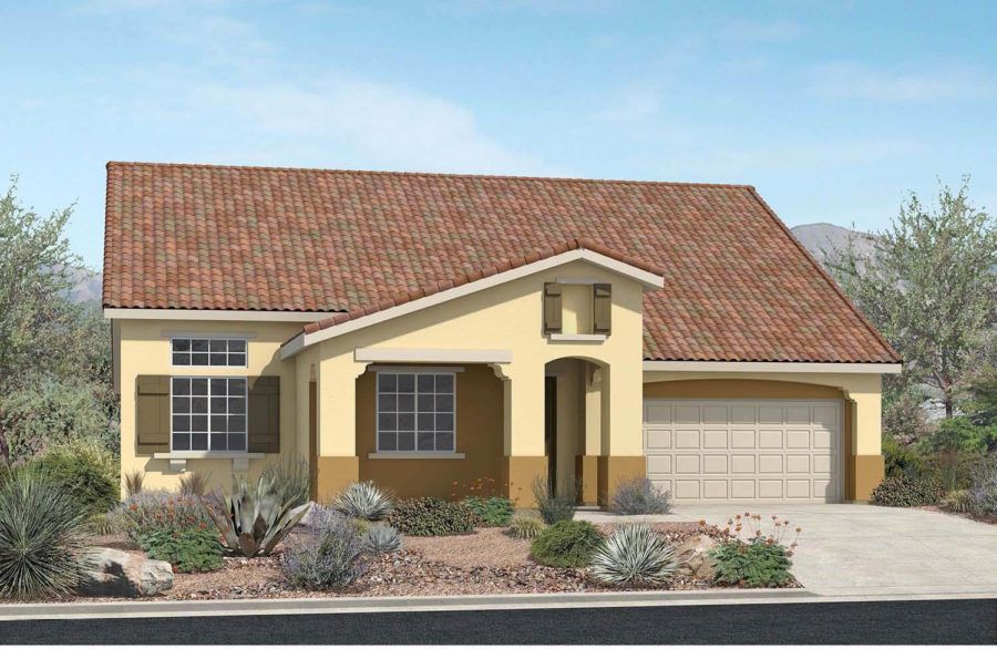 Single Family for Active at Pacific Larkspur - Plan 3 - Model Home For Sale 4647 Vahan Court Lancaster, California 93536 United States