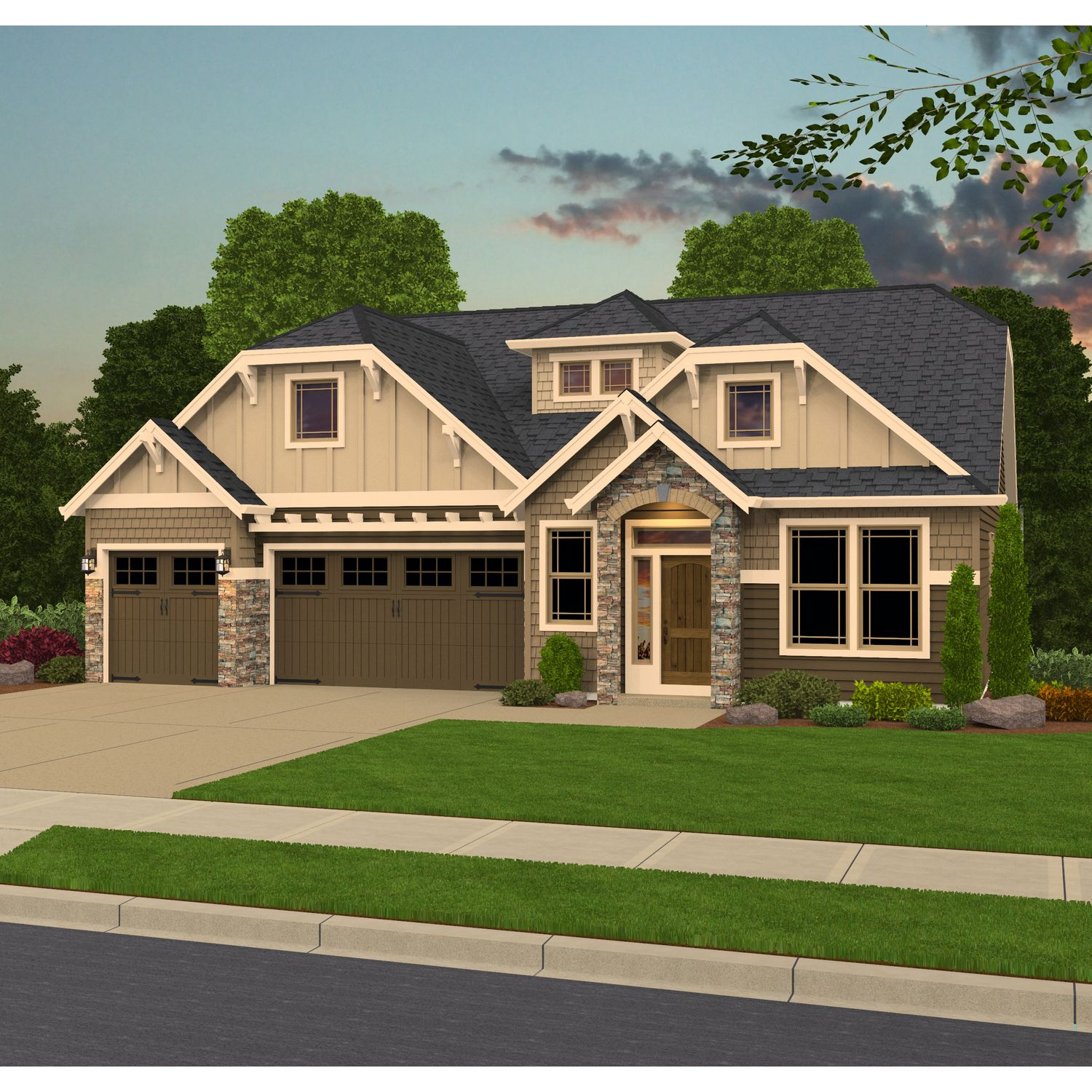 Glenwood pointe new homes in vancouver wa by pacific lifestyle for Home builders vancouver wa