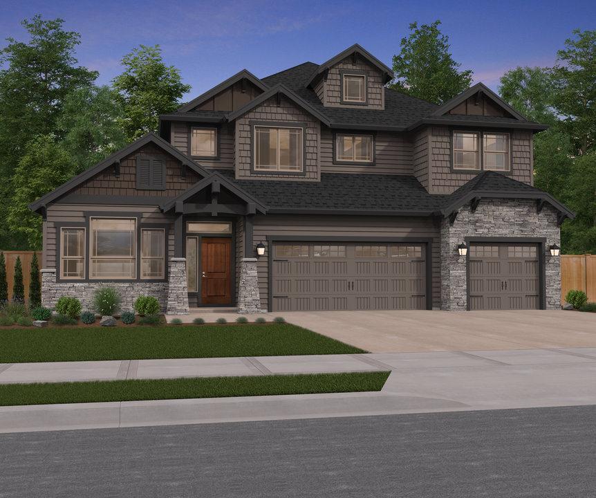Unifamiliar por un Venta en Seven Wells Estates - Mahogany 1672 S 45th Ave Ridgefield, Washington 98642 United States