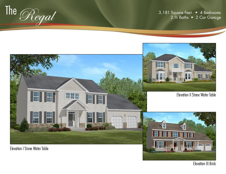 Single Family for Sale at Rolling Meadows - The Regal 1 Bellagio Road Jackson, New Jersey 08527 United States