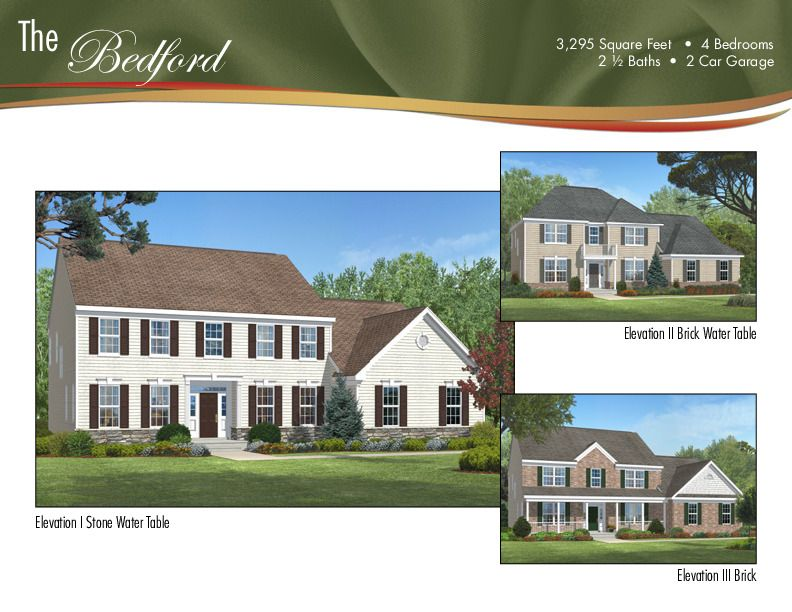 Single Family for Sale at Rolling Meadows - The Bedford 1 Bellagio Road Jackson, New Jersey 08527 United States