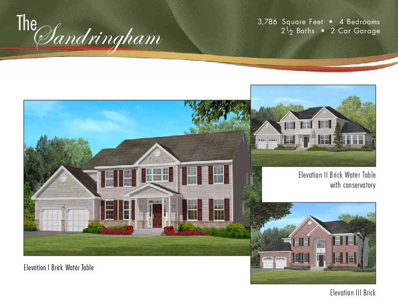 Single Family for Sale at Rolling Meadows - The Sandringham 1 Bellagio Road Jackson, New Jersey 08527 United States