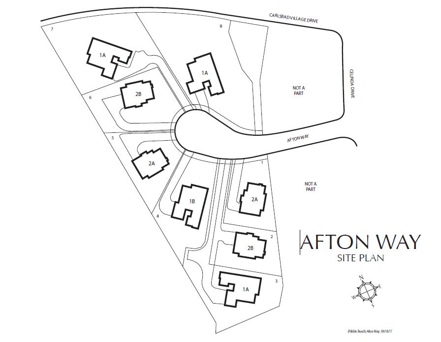 Single Family for Active at Plan 1 3107 Afton Way Carlsbad, California 92008 United States