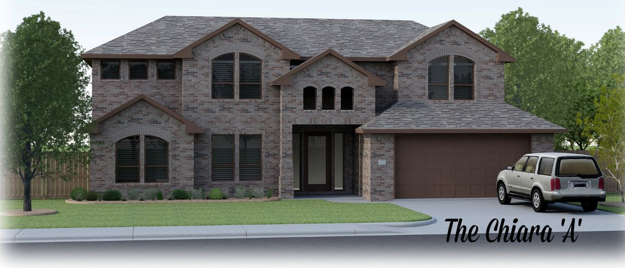 Permian homes daybreak estates the chiara 1201149 for Midland home builders