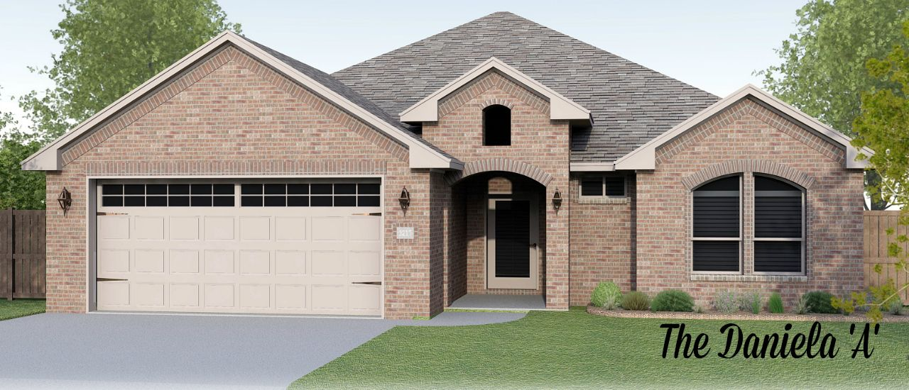 Permian homes daybreak estates the daniela 1201143 for Midland home builders