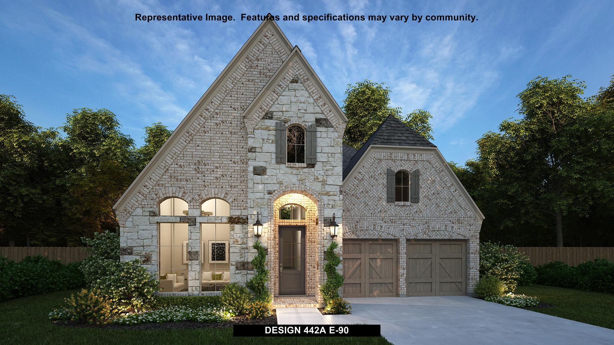 Single Family for Active at Castle Hills 50' - 442a 4412 Tall Knight Lane Carrollton, Texas 75010 United States