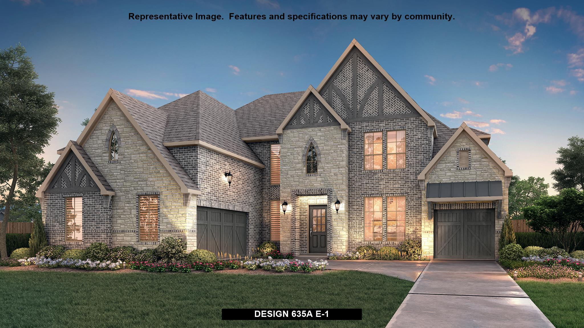 Single Family for Active at Walsh 70' - 635a 13752 Parkline Way Aledo, Texas 76008 United States