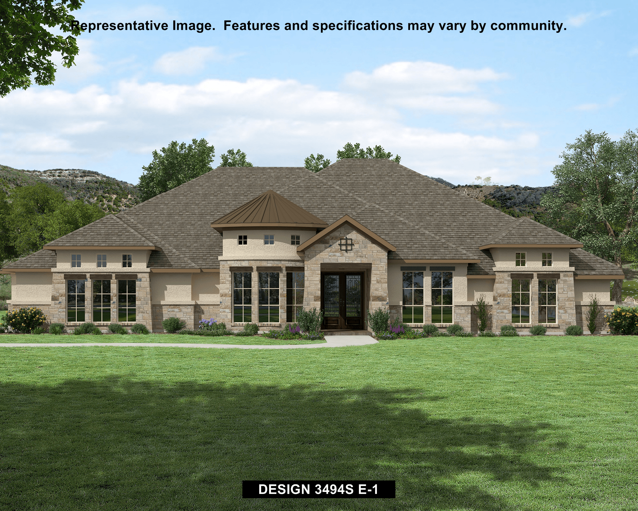 Perry homes vintage oaks 3494s 1147640 new braunfels for Modern homes for sale in texas