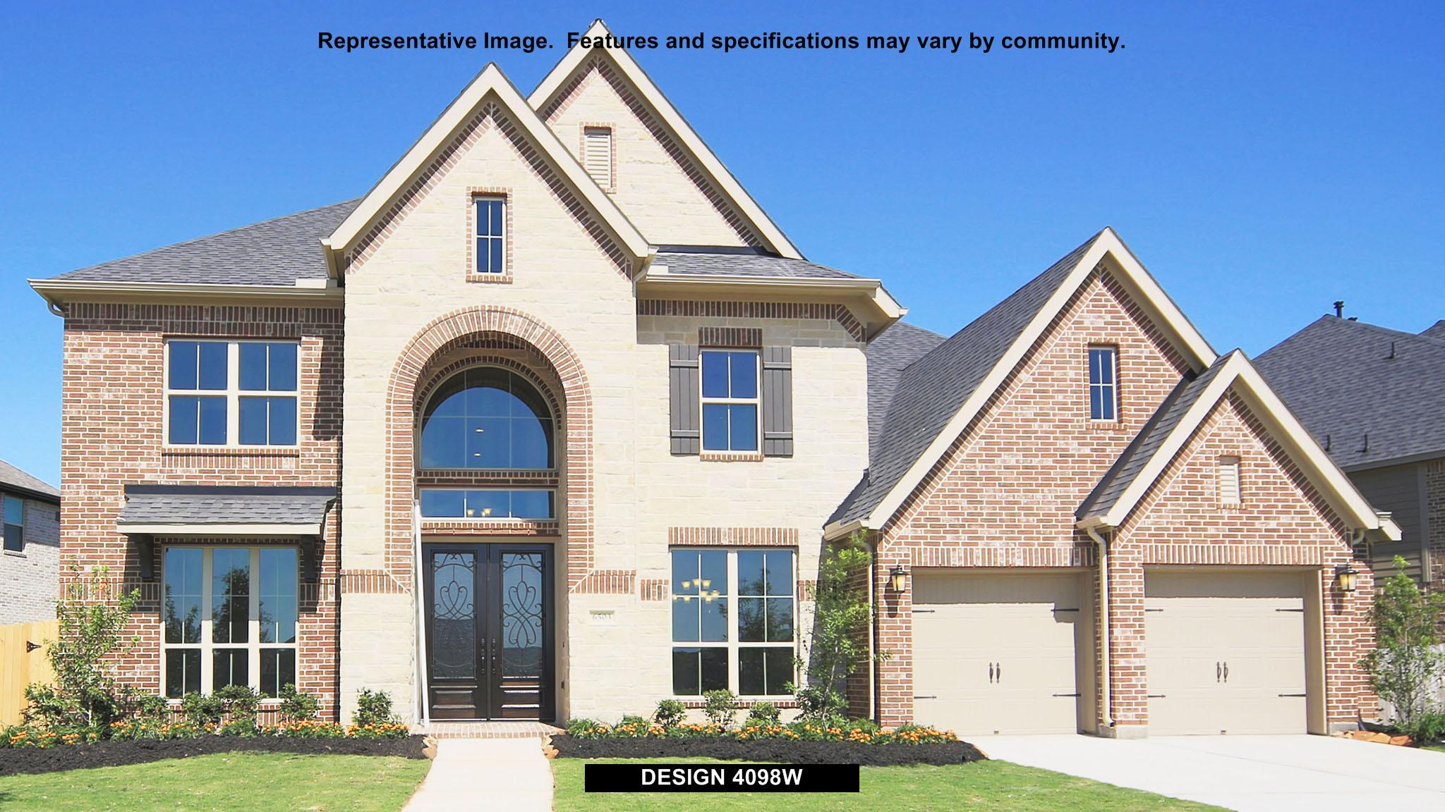 Single Family for Sale at Meridiana 70' - 4098w 9815 Bell Court Iowa Colony, Texas 77583 United States