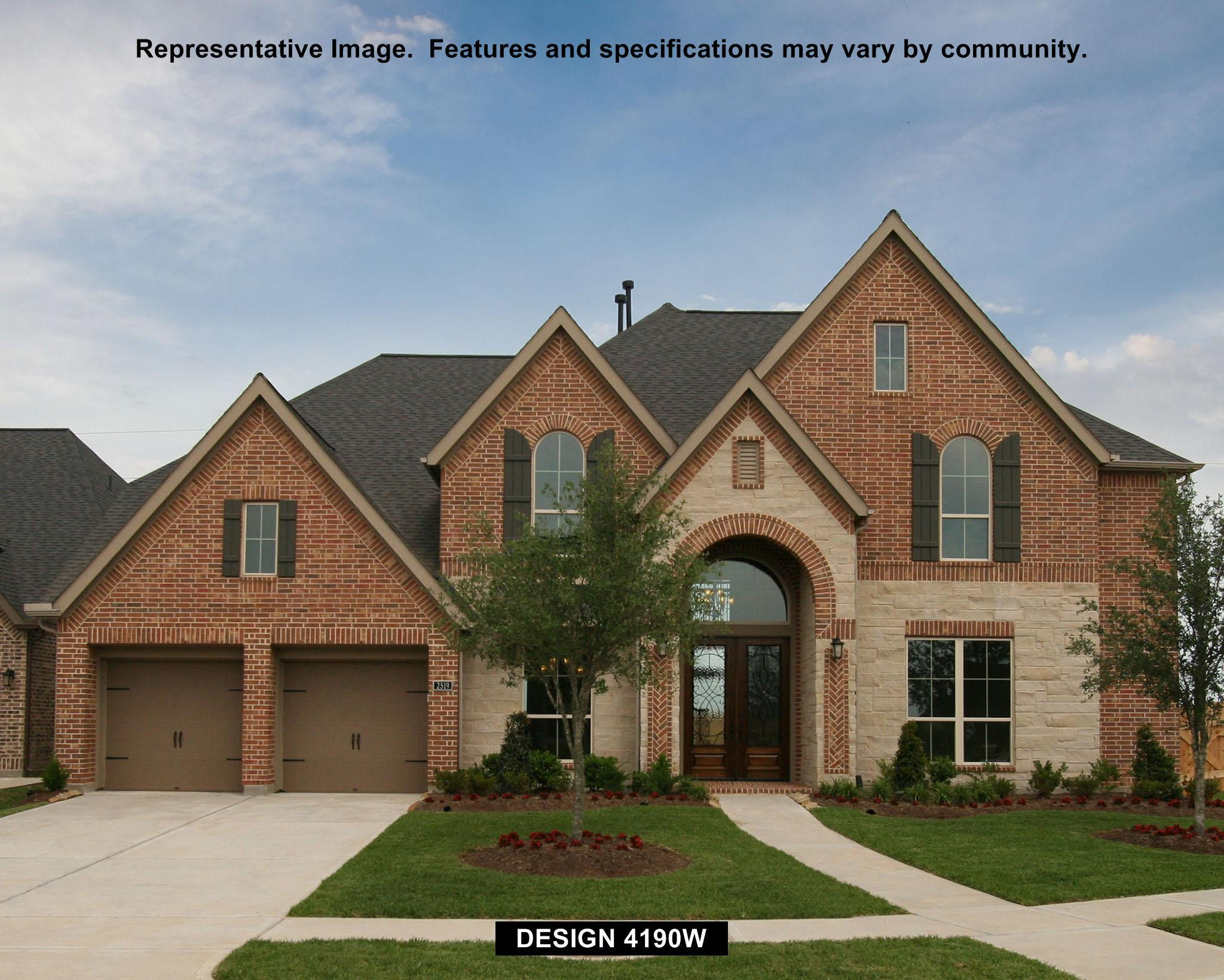 Single Family for Sale at Meridiana 70' - 4190w 9815 Bell Court Iowa Colony, Texas 77583 United States