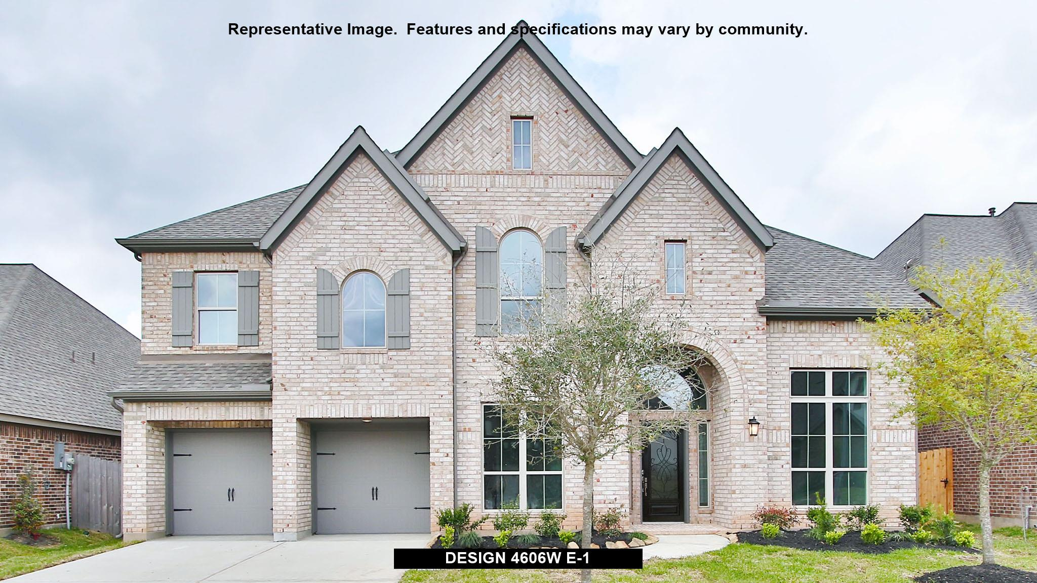 Single Family for Active at Meridiana 70' - 4606w 9815 Bell Court Iowa Colony, Texas 77583 United States
