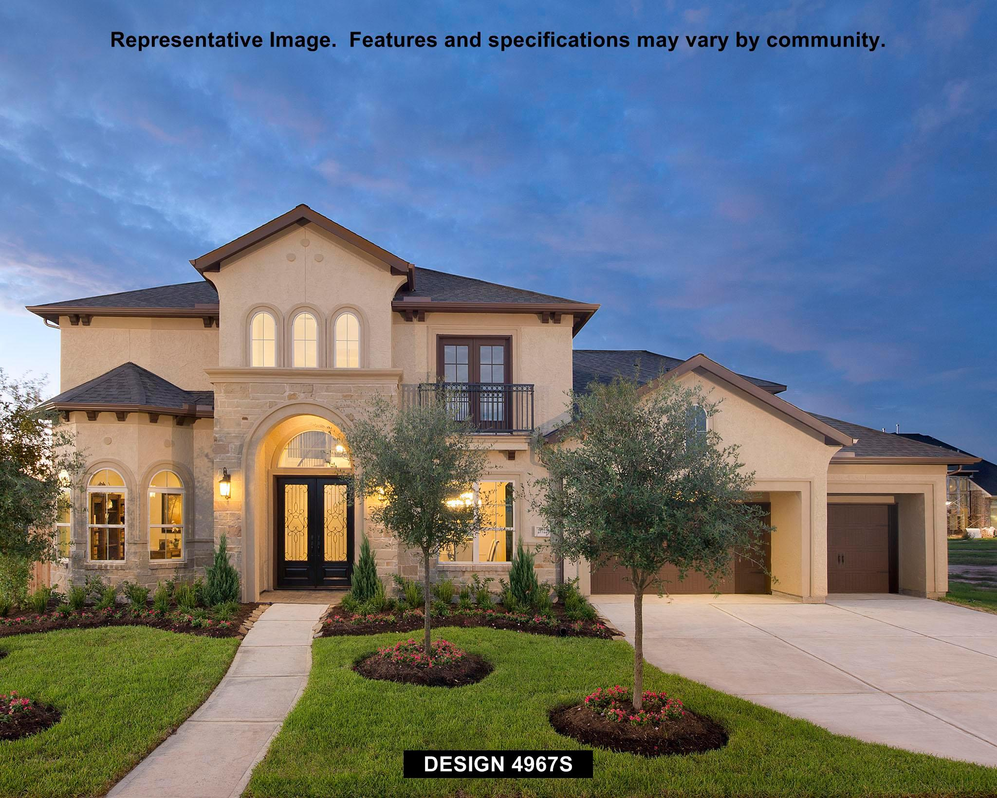 Single Family for Sale at Southlake 75'/80' - Waterfront Series - 4967s 3435 Magnolia Shores Lane Pearland, Texas 77584 United States