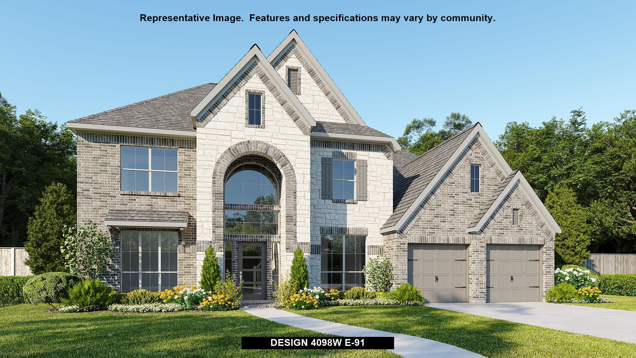 Single Family for Active at Meridiana 80' - 4098w 9815 Bell Court Iowa Colony, Texas 77583 United States