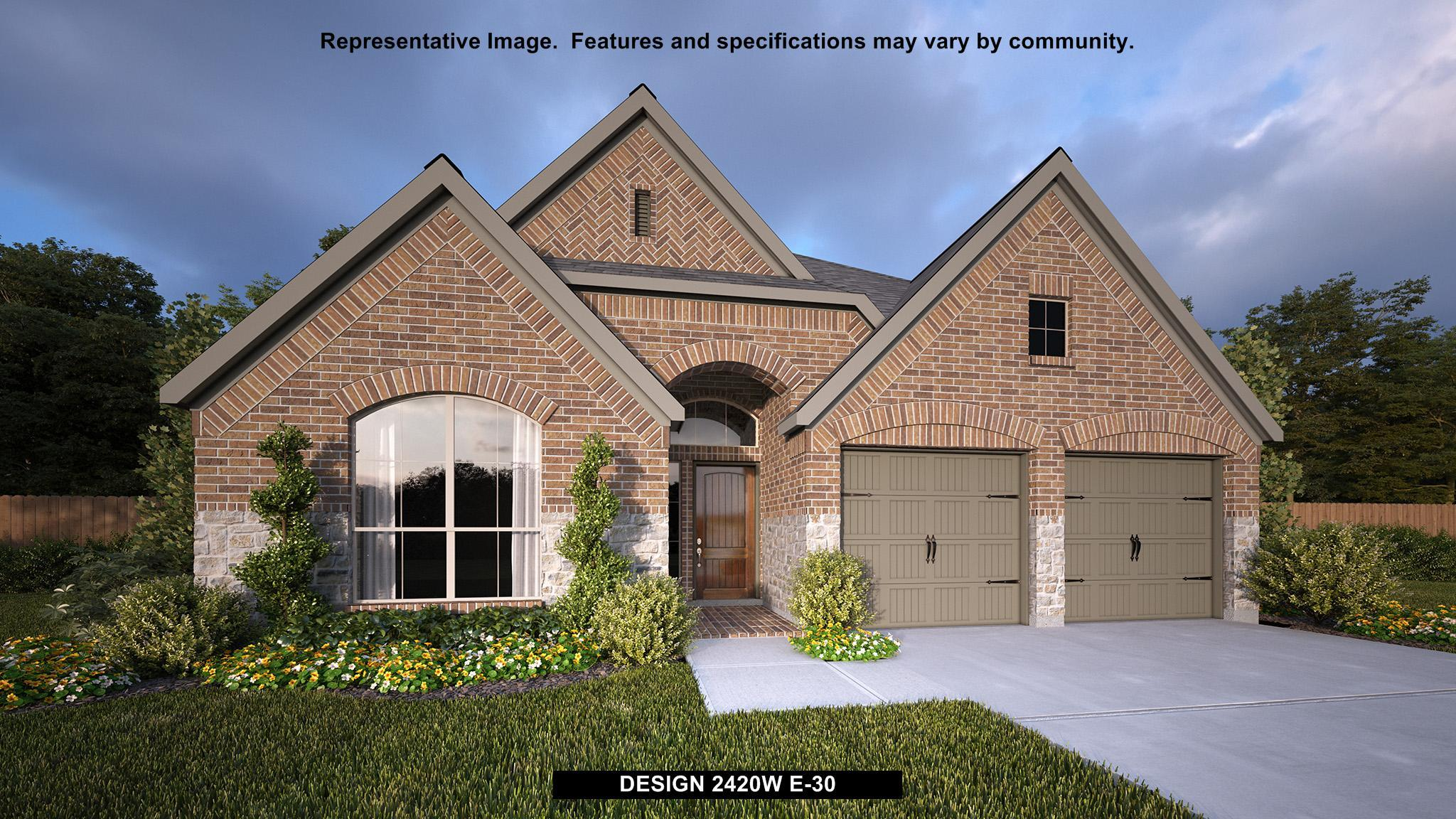 Single Family for Sale at Blanco Vista 45' - 2420w 120 Lacey Oak Loop San Marcos, Texas 78666 United States
