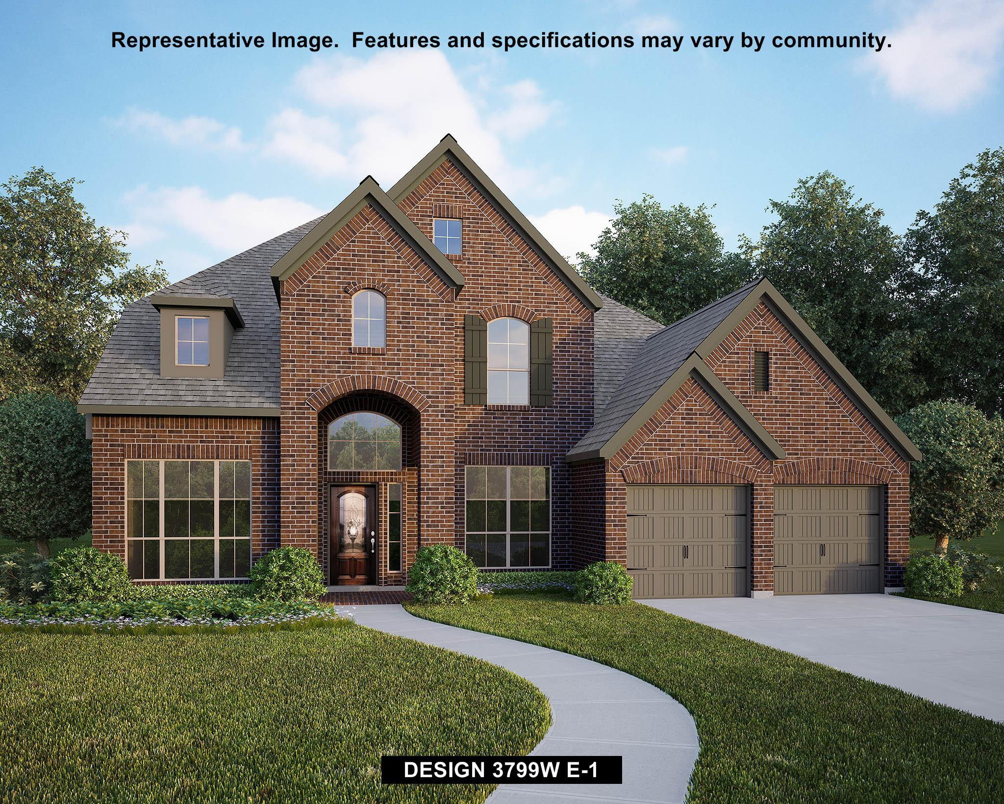 Single Family for Sale at Mill Creek Crossing 65' - 3799w 3004 Saddlehorn Drive Seguin, Texas 78155 United States