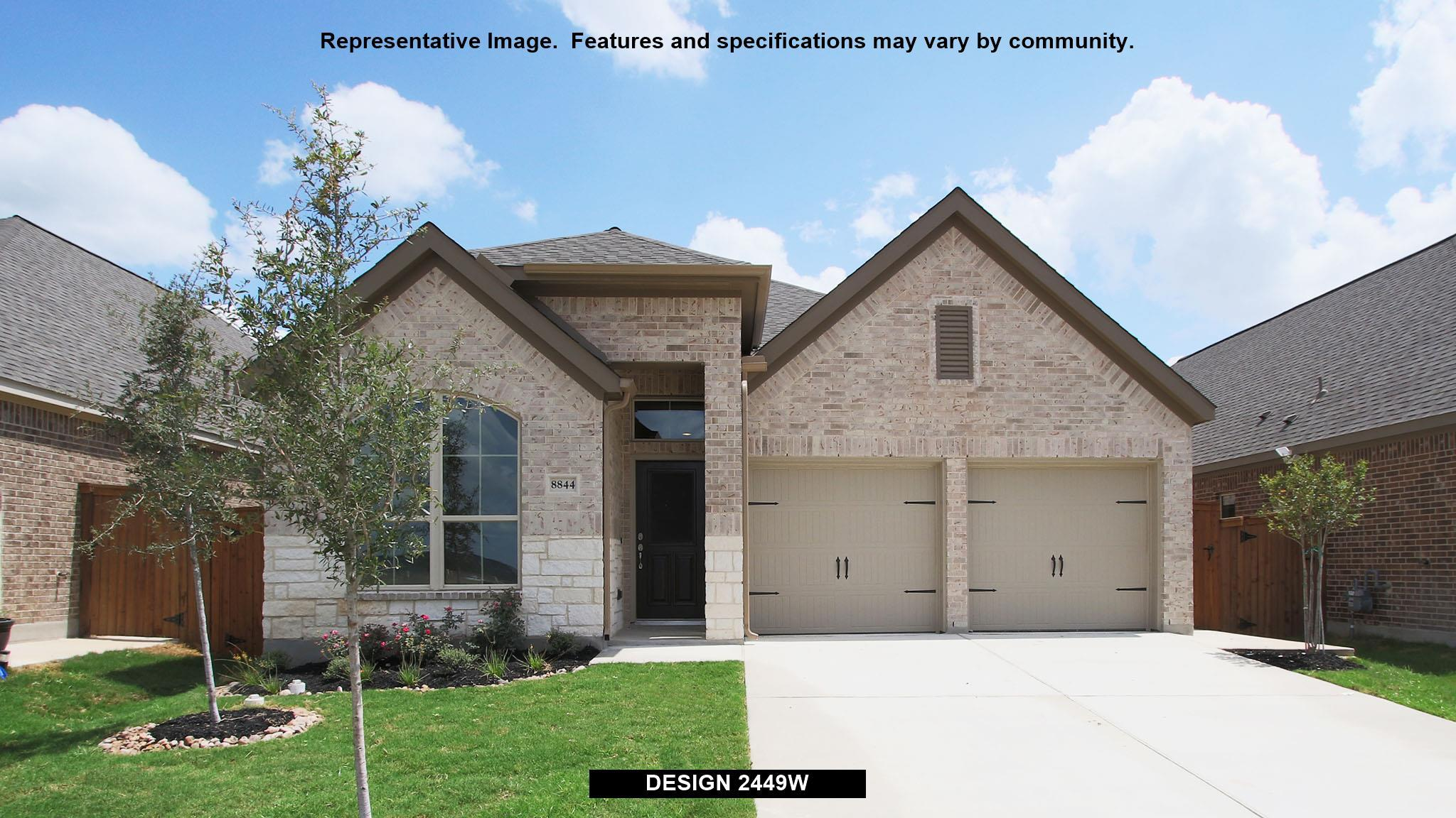 Perry Homes Sweetwater 45 39 2449w 1226988 Austin Tx