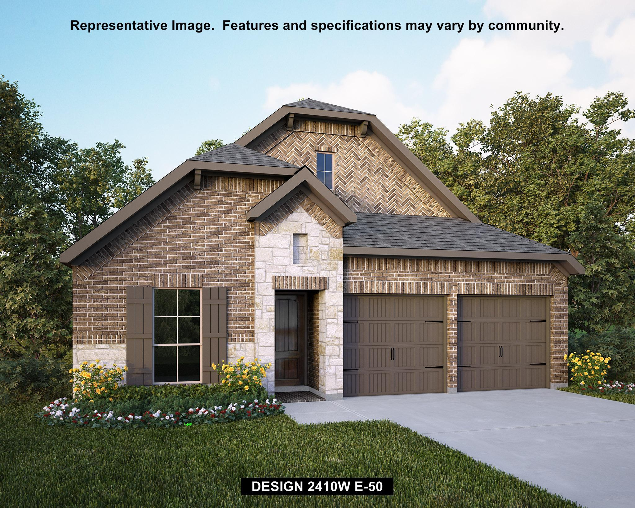 Single Family for Sale at Blanco Vista 45' - 2410w 113 Lacey Oak Loop San Marcos, Texas 78666 United States