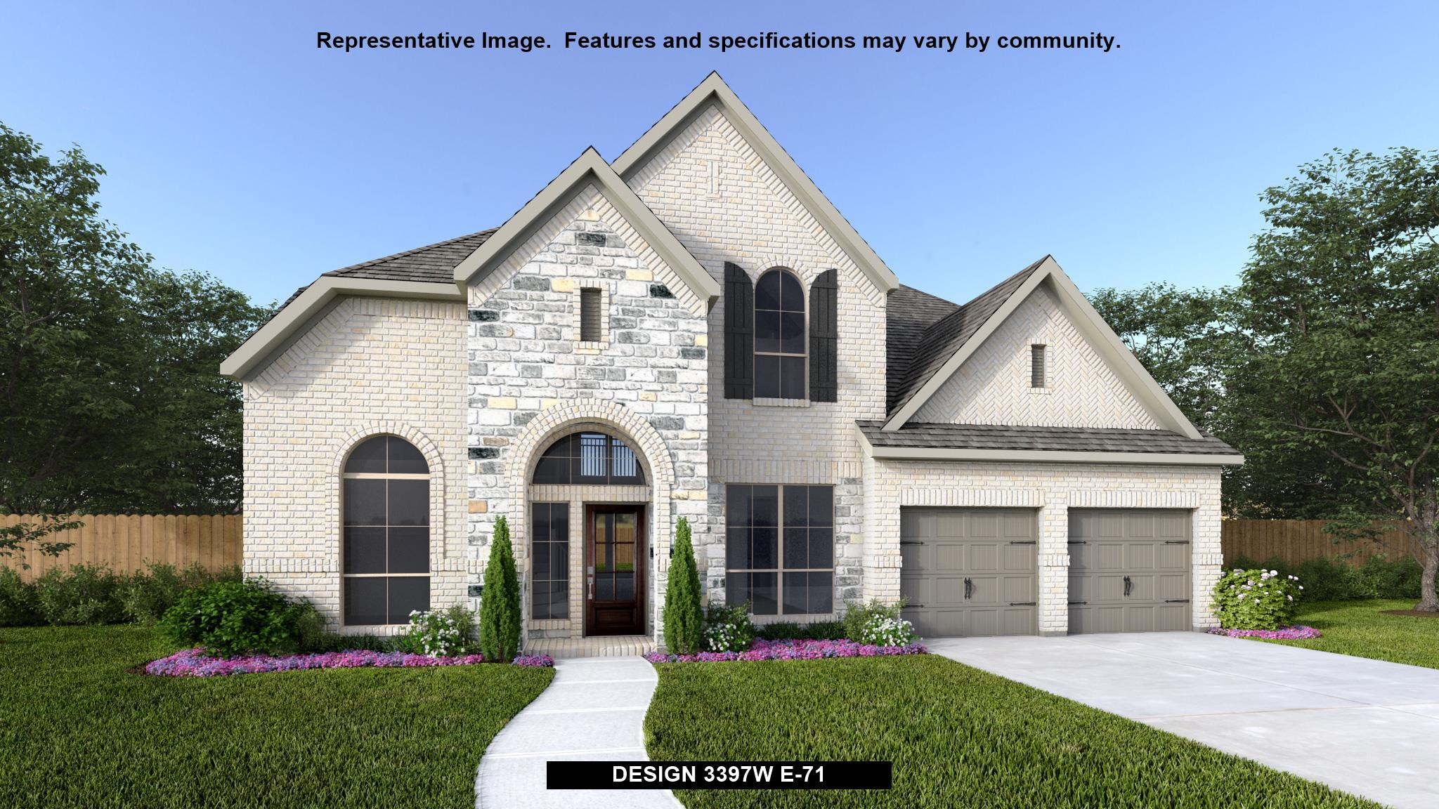 Single Family for Sale at The Village Of Mill Creek 60' - 3397w 2863 Coral Way Seguin, Texas 78155 United States