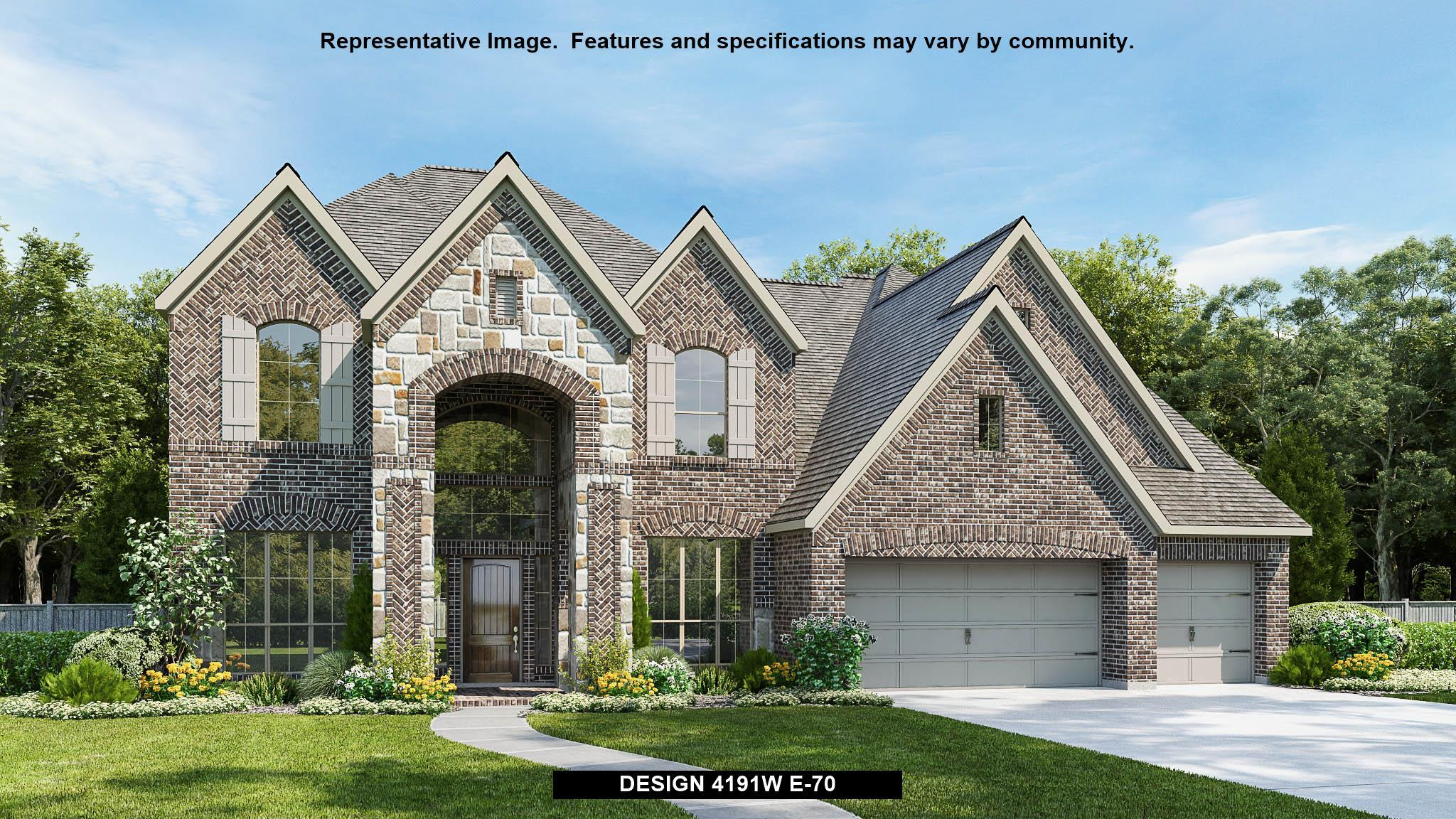 Single Family for Active at Meridiana 80' - 4191w 9815 Bell Court Iowa Colony, Texas 77583 United States