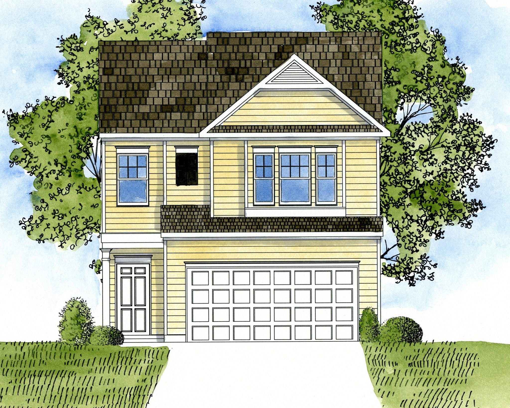 94 harrison drive lot 158 newnan ga new home for sale for Home builders newnan ga