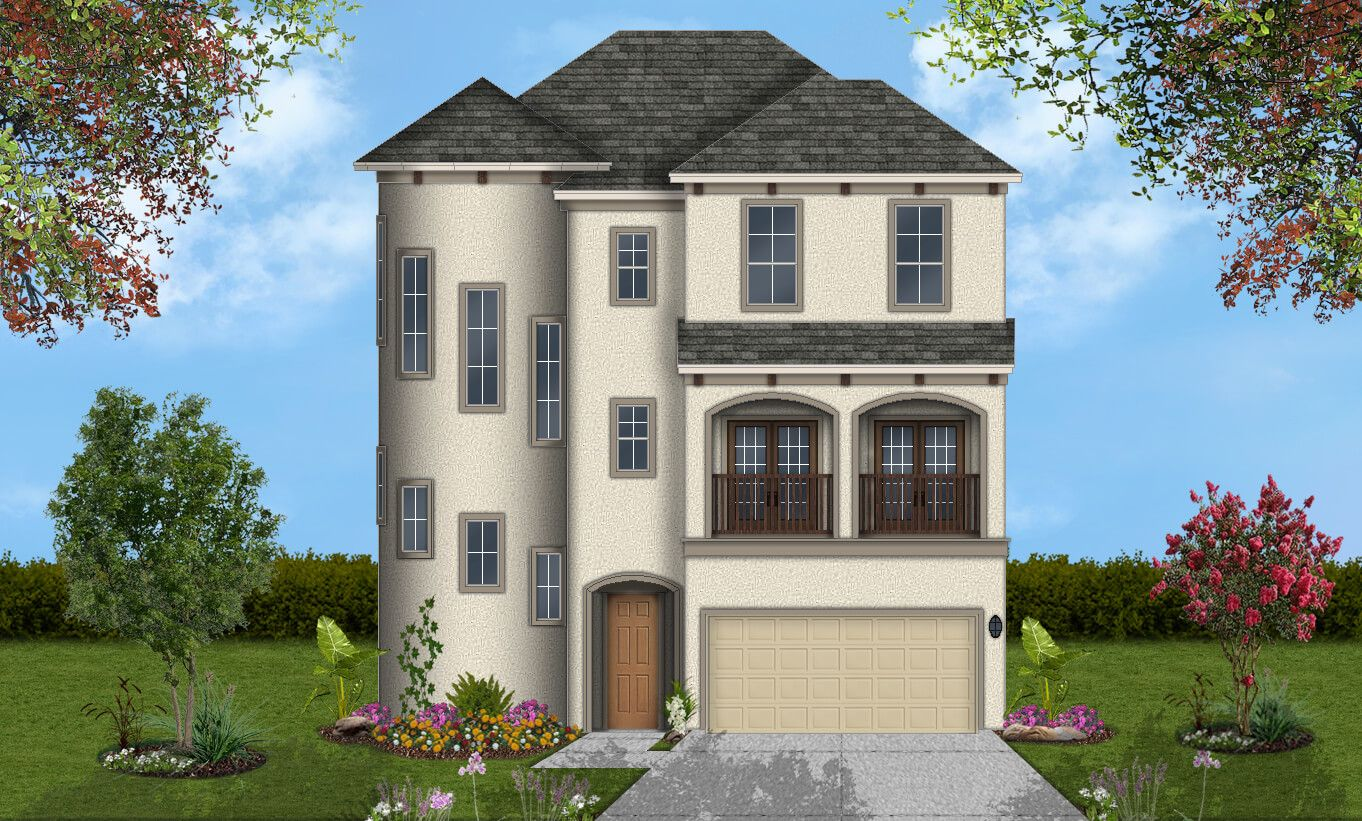 Single Family for Sale at Villas At Kings Harbor - Evadale 1711 Billfish Blvd Kingwood, Texas 77345 United States