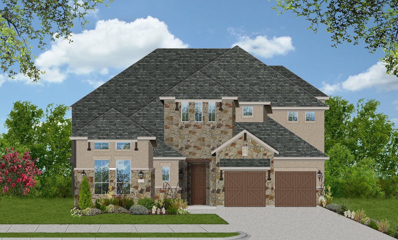 Single Family for Active at Parkside West 60' - Montague 7024 Arches Ave Irving, Texas 75063 United States