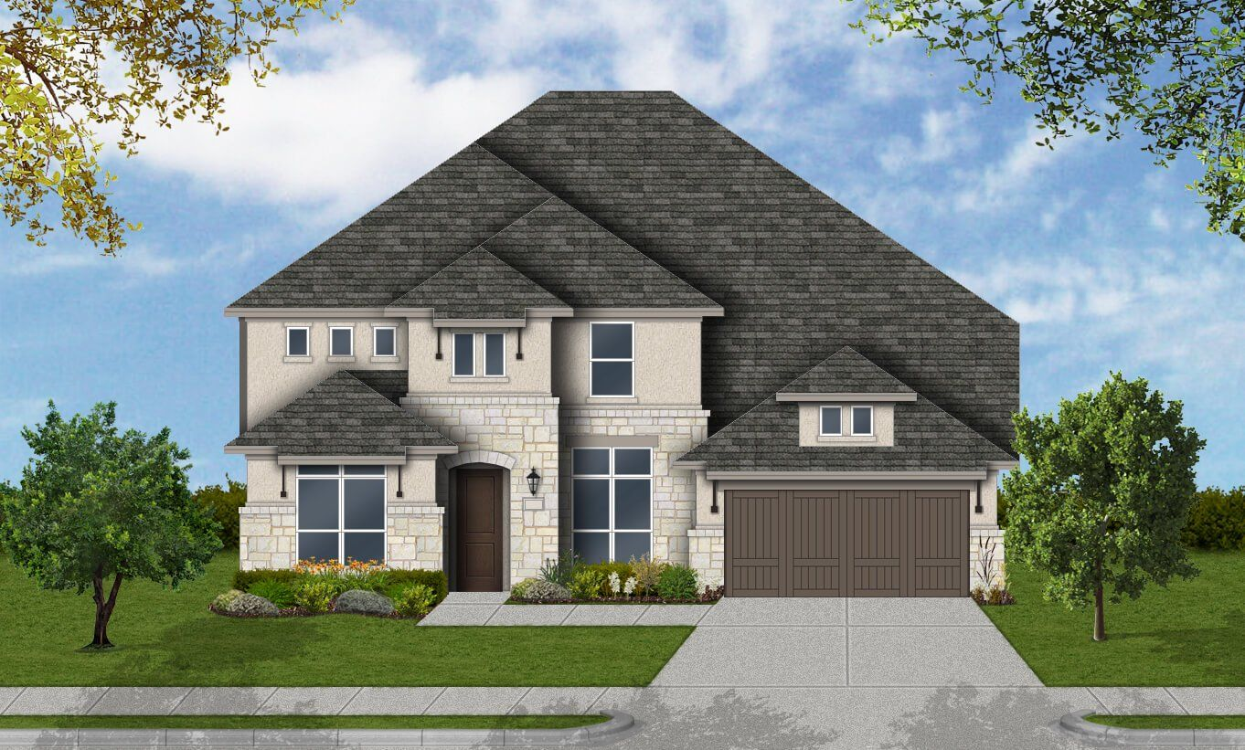 Single Family for Active at Parkside West 60' - Dayton 7024 Arches Ave Irving, Texas 75063 United States