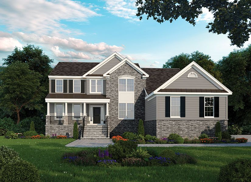 Single Family for Sale at Point Of Woods - Saffron 1 Blue Jay Court Monmouth Junction, New Jersey 08852 United States