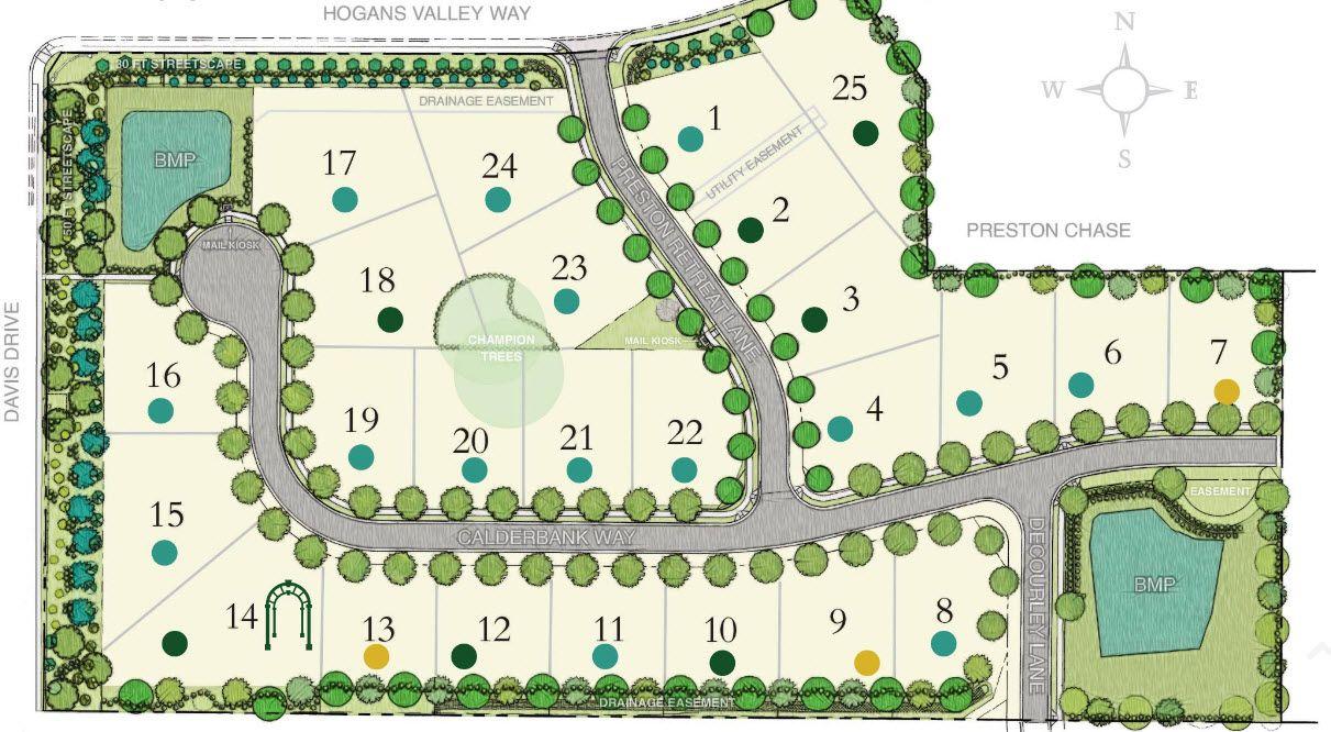 Single Family for Sale at Lot 19 - Reward Builders Calderbank Way Cary, North Carolina 27513 United States
