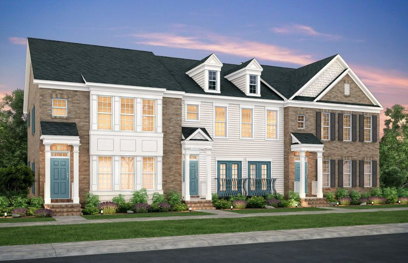 Multi Family voor Verkoop een t Parkside At Mason Mill - The Overlook - Eddington 1057 N Jamestown Road Decatur, Georgia 30033 United States