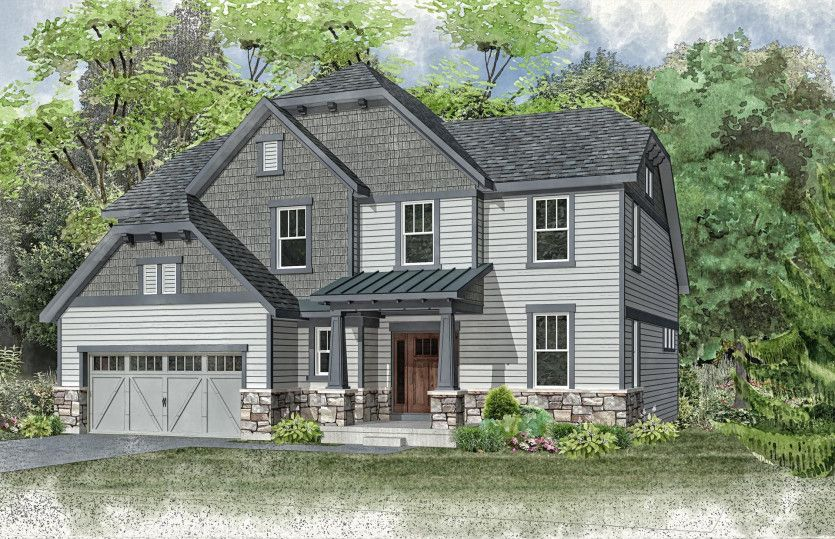 Single Family for Active at The Residences At The Cuneo Mansion And Gardens - Maple Valley 514 Council Drive Vernon Hills, Illinois 60061 United States