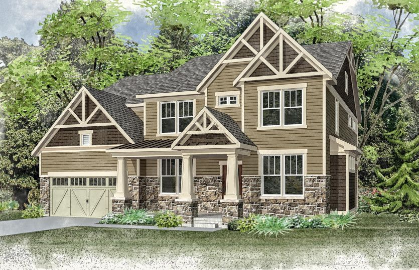 Single Family for Active at The Residences At The Cuneo Mansion And Gardens - Melrose 514 Council Drive Vernon Hills, Illinois 60061 United States