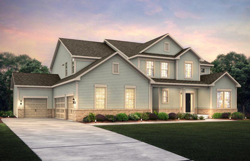 Single Family for Sale at Tice Estates - Trailway 1322 Rickert Rd Perkasie, Pennsylvania 18944 United States