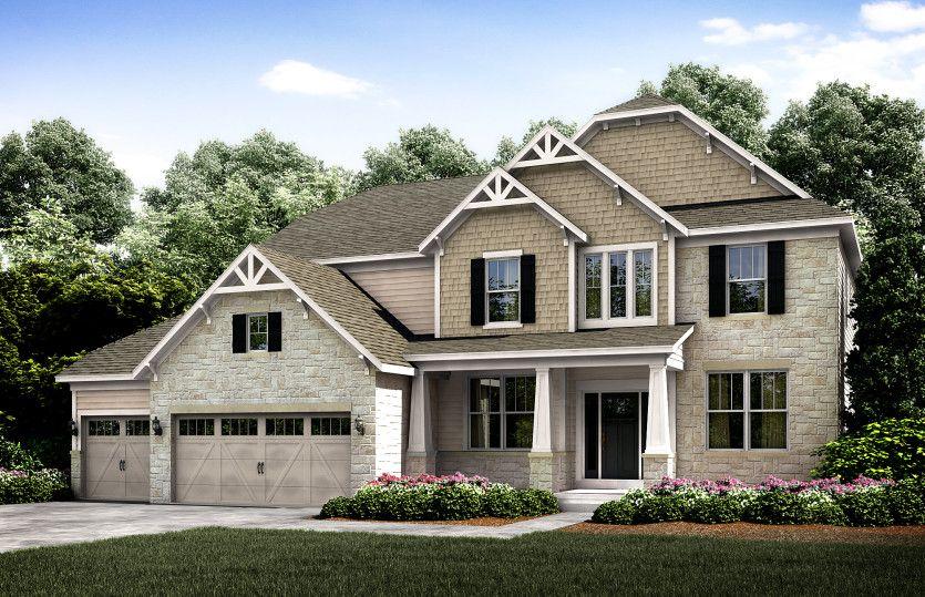 Unifamiliar por un Venta en Hawthorn Hills - The Bradbury Series - Woodside 2 Bradbury Lane Hawthorn Woods, Illinois 60047 United States