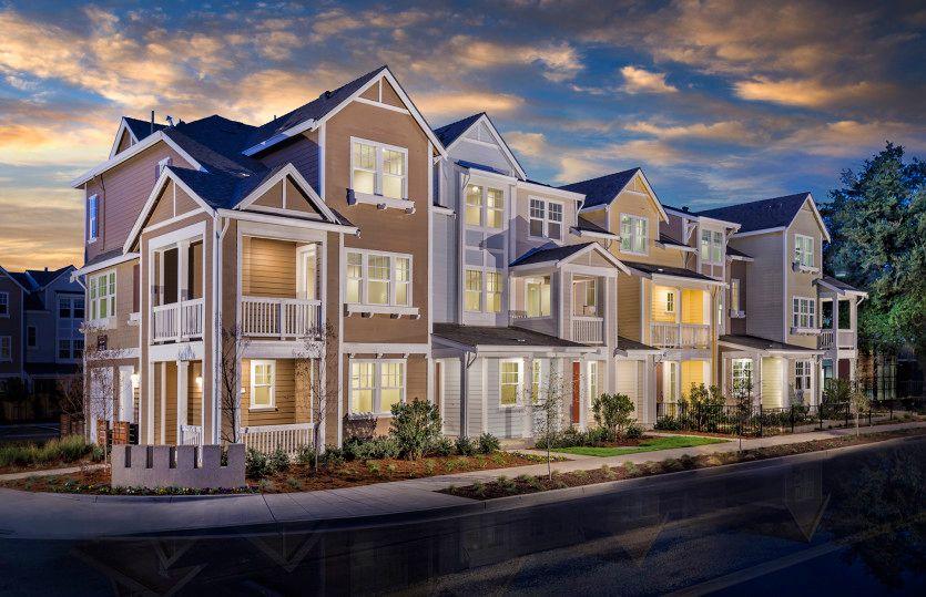 Multi Family for Active at Radius - Towns Plan 3 320 Circuit Way Mountain View, California 94043 United States
