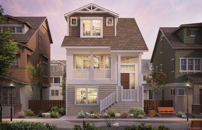 Single Family for Active at Radius - Villas Plan 1 320 Circuit Way Mountain View, California 94043 United States