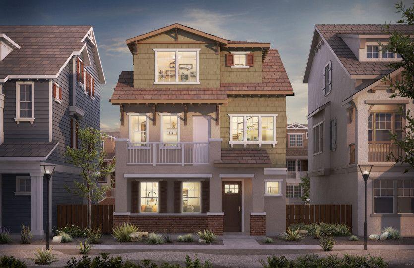 Single Family for Active at Radius - Villas Plan 3 320 Circuit Way Mountain View, California 94043 United States