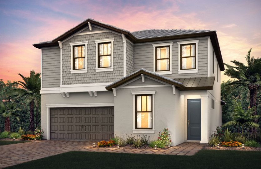 Single Family for Active at The Enclaves At Woodmont - Riverwalk 7910 Nw 79th Terrace Tamarac, Florida 33321 United States