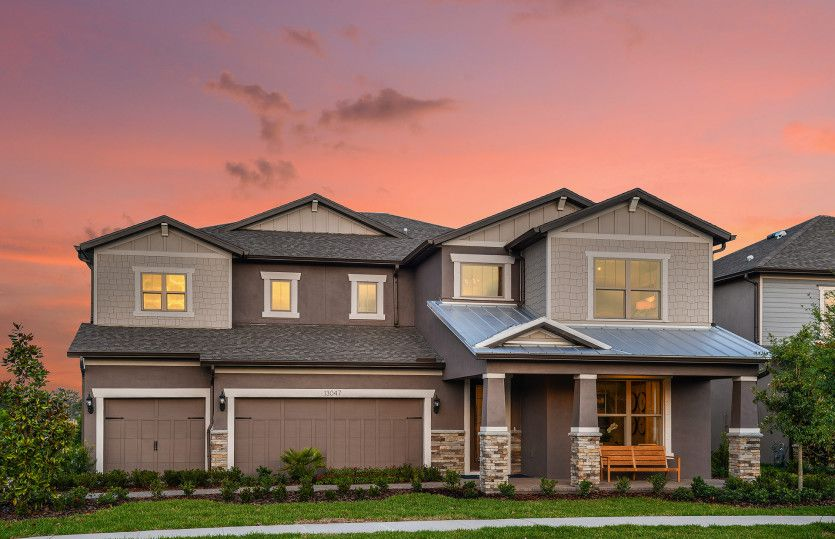 Single Family for Active at Enclave At Palm Harbor - Heatherton 812 Forest Glen Court Palm Harbor, Florida 34683 United States