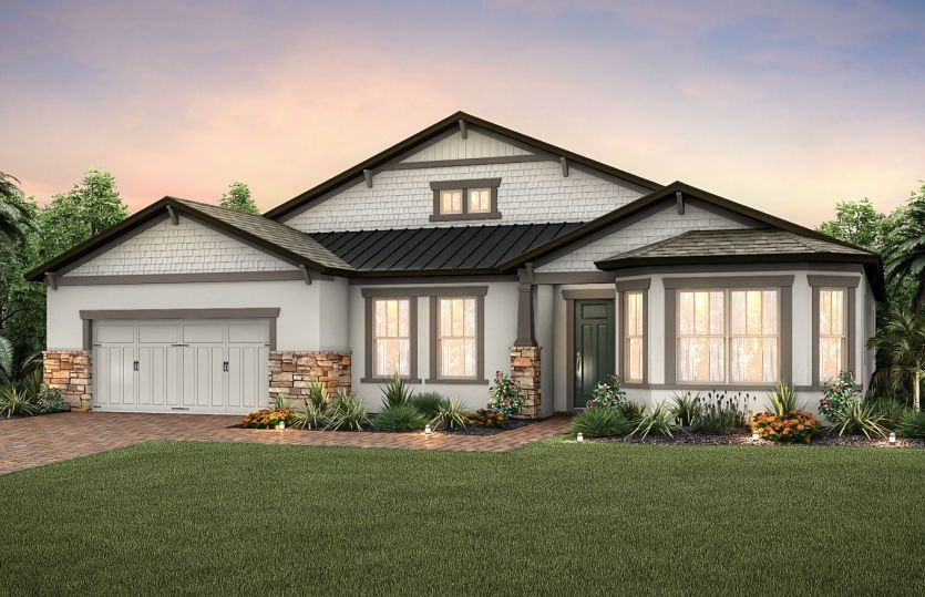 Single Family for Active at Enclave At Palm Harbor - Camelot 812 Forest Glen Court Palm Harbor, Florida 34683 United States